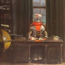 B-9 In The Study by The Artwork Of Vincent Cacciotti