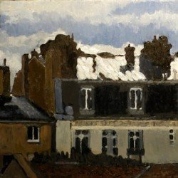 Paris Rooftop by Jan Keith Lipes