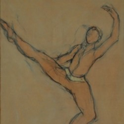 Male Dancer by Lori Austill