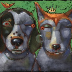 Woody And Beck, The Famous Hounds Of Montucky by Brenda York