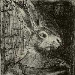 Strong Bunny by Intaglio Prints By Jolene Garanzha