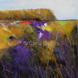 Violet Marsh Ten by Carol Engles Art