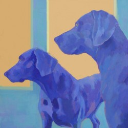 Luke & Kya - SOLD by Phyllis Dobbyn Adams