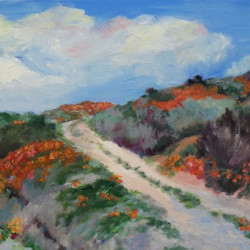 Road to Poppy View by Rosemary Bandes