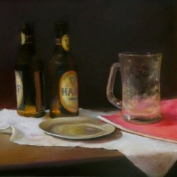 Two Beers by Michael Mcgurk