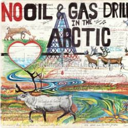 Caribou No Oil and Gas Drilling by Running Fisher Ledgers