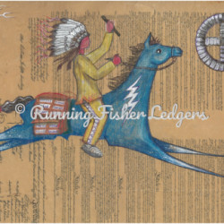 Blue Pony on Constitution by Running Fisher Ledgers