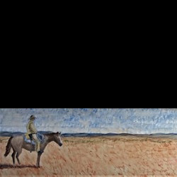 Cowboy by Jim Lively