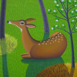 DAY DEER by Jane Troup