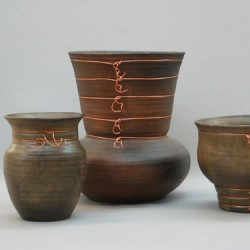 Pots on the Barby by Jeani Gustafson