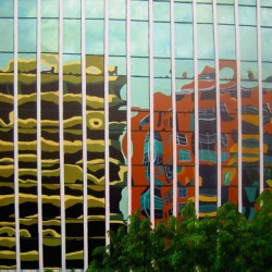 Reflection, Commerce Bank by Lainie Turkish