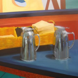 Still Life with Pitchers by Lainie Turkish