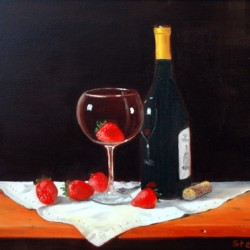 Strawberry Wine  by Gerald  Stephan