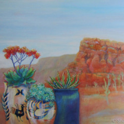 Pottery With A View: ARIZONA TWO by Sharon Nelson-bianco