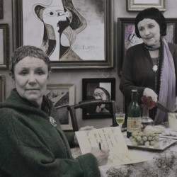 Gertrude Stein and Alice B. Toklas<br>27 rue de Fleurus, Paris by Sally Stockhold