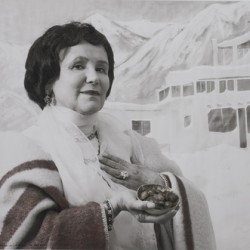 Mabel Dodge Luhan<br>In Taos, Tony introduced me to peyote... I introduced him to money. by Sally Stockhold