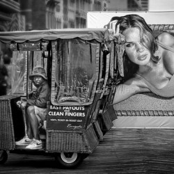 Push car dreamer. by Jeff Wiles