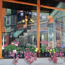 Reflections on Five North Square by Karl Bronk