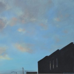 Twilight Fells Point 3 Windows & Sky by Deborah Stevenson