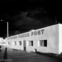 Twin Arrows, AZ, Trading Post by Gene Hollander