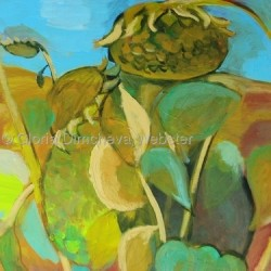Sunflowers by Gloria Dimcheva Webster