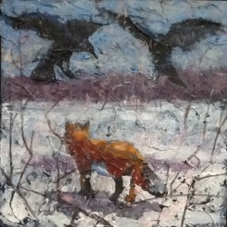 Winter Fox and Crows:Part One by Charles David Viera