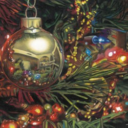 Christmas Reflections by Rick Tuthill - Everett Wa