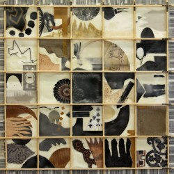 figure it out, random 2, family debris series by Lisa  Barthelson