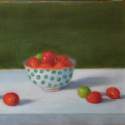 Cherry Tomatoes by Ann Petrus Baker