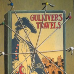 Gulliver's Travels by Pastels By Master Pastellist Dave Francis, Psa-mp, Iaps Mc