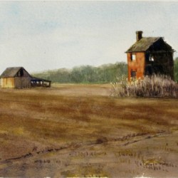 Last of the Old Place, Camden, NC by Richard Eaves Woods Arts