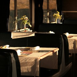 Dining Car, Sunset by Yoram Gelman Photography:   Art Through Light . . . .