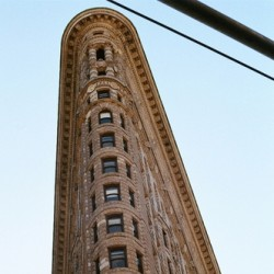 Flat Iron Building, New York by Gillian Horgan