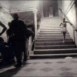 Girl on Steps, Havana, Cuba, 2000 by Benita Keller