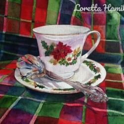 Christmas Tea by Loretta Hamilton