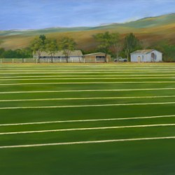 Sod Farm, Gilroy Ca. by Tom Thomas Artist