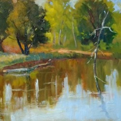 Tranquil Water by Gayle Lewis