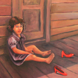 Daydreams, Red Shoes and Solitude by Cynthia Jewell Pollett