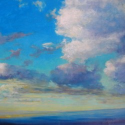 Sky & Water#1 by Catherine  Wagner Minnery