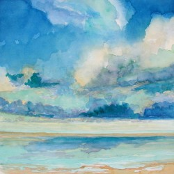 Sky & Water by Catherine  Wagner Minnery