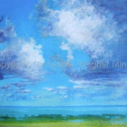 Water & Sky #2 by Catherine  Wagner Minnery
