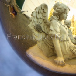 Reflections on an Angel, 2009 by Francine Douaihy Photographs