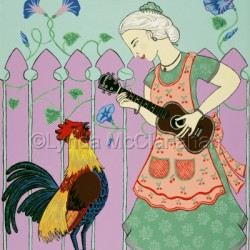 Serenading the Rooster by Lynda Mcclanahan