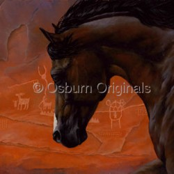 Running Free in Nine Mile Canyon by Osburn Originals
