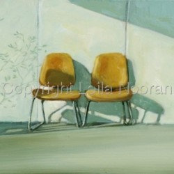 Two Empty Chairs by Leila Noorani