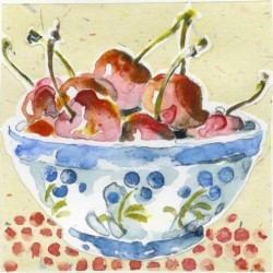 Cherries & Dots by Gail Bracegirdle