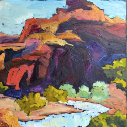 Canyons- Deep Shadows by Sharon Hodges