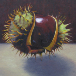 Horse Chestnut, Emerging by Louise Morin Dichard