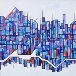 City 3 by Valeree Rose Falduto