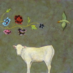Sacred Cow II by Phyllis Stapler